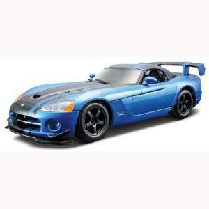 Авто-конструктор DODGE VIPER SRT10 ACR (2008) (голубой металлик, 1:24) Bburago