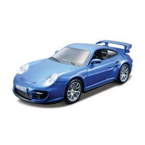 Авто-конструктор PORSCHE 911 GT2 (голубой, 1:32) Bburago