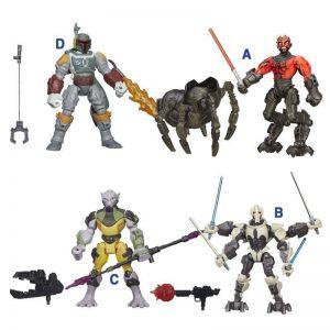 """Разборная фигурка с оружием вселенной """"Звёздные Войны"""" Hasbro STAR WARS,15 см."""