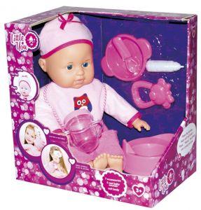 Пупс с аксессуарами розовый
