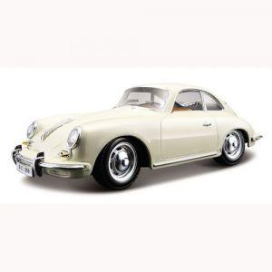 Автомодель Bburago PORSCHE 356B (1961) (ассорти слоновая кость, красный, 1:24)