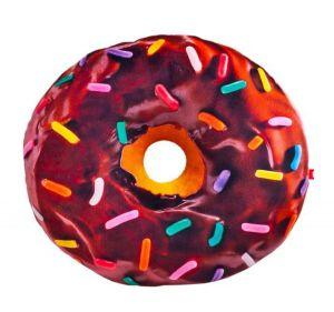 Подушка декоративная Пончик Шоколадная глазурь