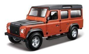 Автомодель Bburago LAND ROVER DEFENDER 110 (ассорти белый, оранжевый металлик 1:32)