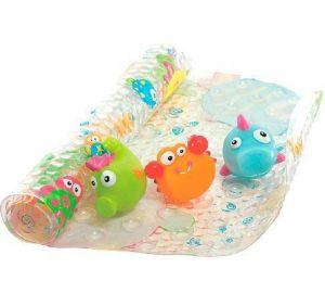 """Набор для ванны """"Коврик + 3 игрушки"""""""