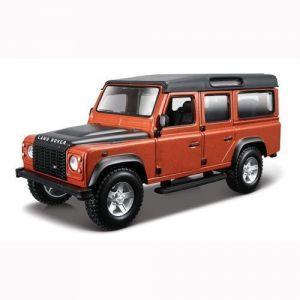 Авто-конструктор LAND ROVER DEFENDER 110 (коричневый металлик, 1:32) Bburago