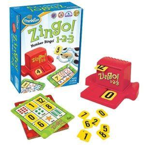 Игра ThinkFun Zingo 1-2-3