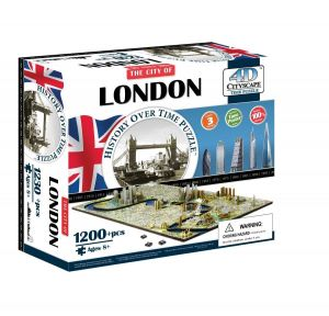 3D пазл Лондон, Великобритания, 4D Cityscape
