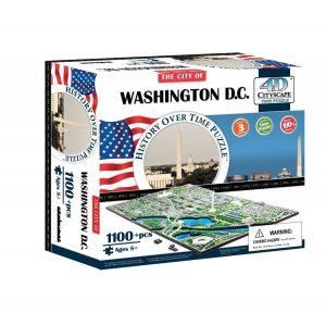 4D Cityscape 3D пазл Вашингтон, США