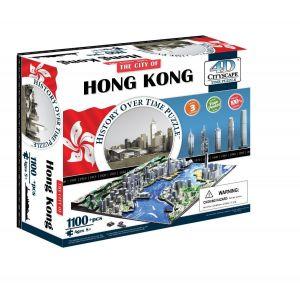 3D пазл Гонконг, Китай, 4D Cityscape