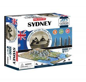 3D пазл Сидней, Австралия, 4D Cityscape