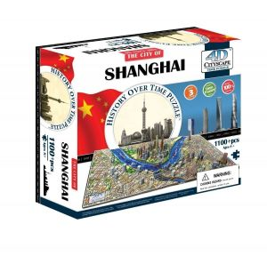 3D пазл Шанхай, Китай, 4D Cityscape