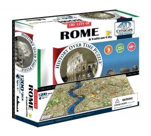 3D пазл Рим, Италия, 4D Cityscape