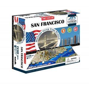 3D пазл Сан-Франциско, США, 4D Cityscape