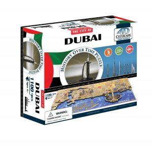 3D пазл Дубаи, ОАЭ, 4D Cityscape