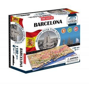3D пазл Барселона, Испания, 4D Cityscape