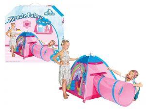 Детская палатка Чудо дворец с туннелем Micasa