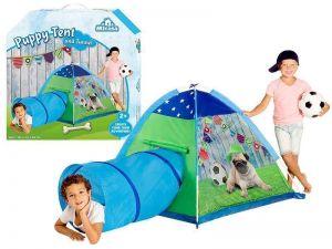 Детская палатка Щенок с туннелем Micasa