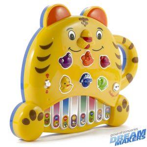 Электронная развивающая игра Пианино - Тигренок