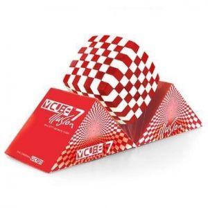 Кубик Рубика V-CUBE 7х7 Illusion Red