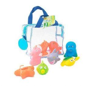 Набор игрушек для ванны Baby Team - Подводный мир