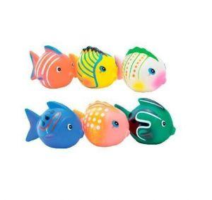 Набор игрушек для ванны Baby Team Разноцветные рыбки