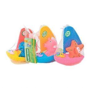 Набор игрушек для ванны Baby Team Веселый сёрфер