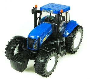 Bruder Трактор New Holland T8040 синий, М1:16