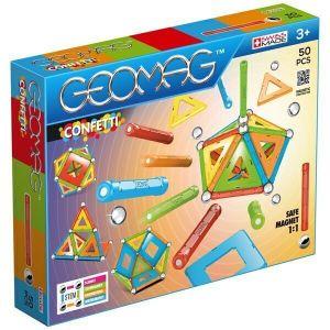 Конструктор магнитный Geomag Confetti 50 деталей