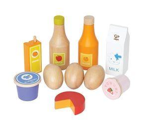 Набор из дерева Молочные продукты Hape