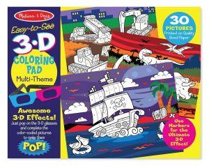 3D раскраска по точкам для мальчиков Melissa & Doug