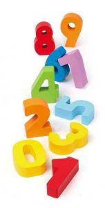 Игровой набор HAPE Деревянные цифры и цвета