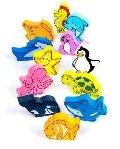 Набор деревянных фигурок HAPE Подводный мир