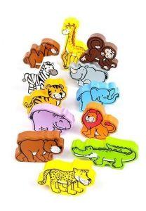 Набор деревянных фигурок животных HAPE Джунгли