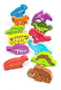 Деревянные фигурки HAPE игровой набор Динозавры