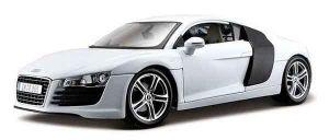 Автомодель Audi R8 белый (1:18)