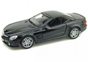 Автомодель (1:18) Mercedes-Benz SL65 AMG чёрный