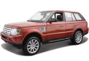 Автомодель (1:18) Range Rover Sport красный металлик