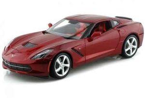 Автомодель (1:18) 2014 Corvette Stingray красный