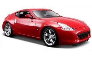 Автомодель Nissan 370Z 2009 красный (1:24)