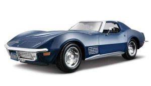 Автомодель Chevrolet Corvette 1970 синий (1:24)