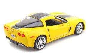 Автомодель Chevrolet Corvette Z06 GT1 2009 жёлтый (1:24) MAISTO