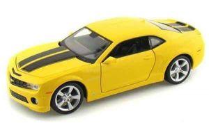 Автомодель (1:24) 2010 Chevrolet Camaro SS RS жёлтый