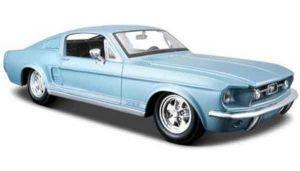 Автомодель (1:24) 1967 Ford Mustang GT синий металлик