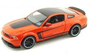 Автомодель Ford Mustang Boss 302 оранжевый (1:24)