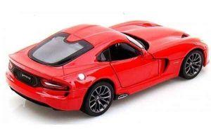 Автомодель (1:24) 2013 SRT Dodge Viper GTS, красный