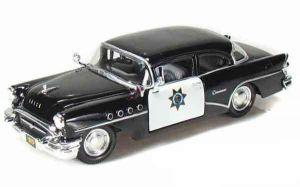 Автомодель (1:26) 1955 Buick Century чёрный
