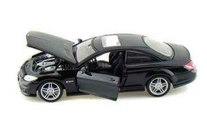 Автомодель (1:24) Mercedes-Benz CL63 AMG чёрный металлик