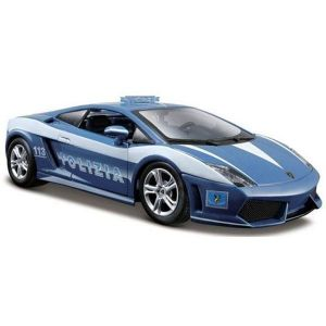 Автомодель (1:24) Lamborghini Gallardo LP560-4 - Polizia синий
