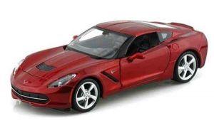 Автомодель (1:24) 2014 Corvette Stingray Coupe красный металлик
