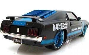"""Автомодель 1970 Ford Mustang Boss 302 чёрный М1:24 - Серия """"AllStars"""" - тюнинг MAISTO"""